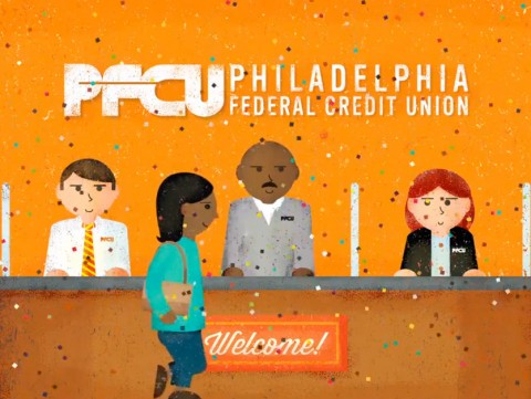 Philadelphia Federal Credit Union TV and Radio campaign