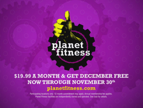 Planet Fitness Black Card Friday TV